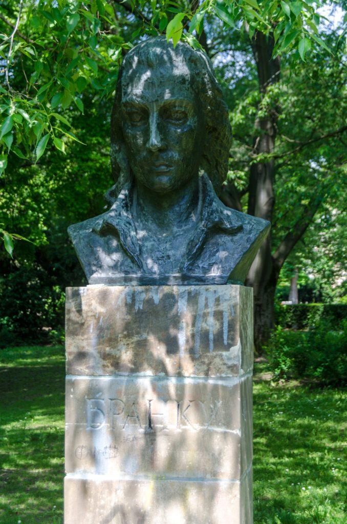 Bista pesnika Branka Radičevića