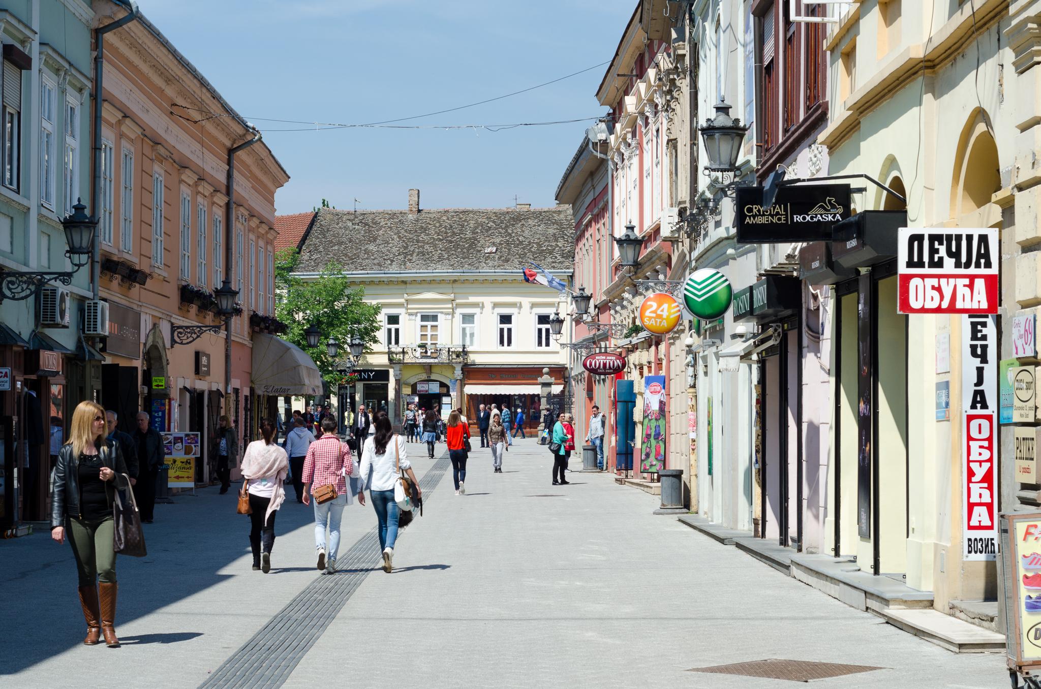 ulice novog sada mapa The most important city streets | I love Novi Sad ulice novog sada mapa