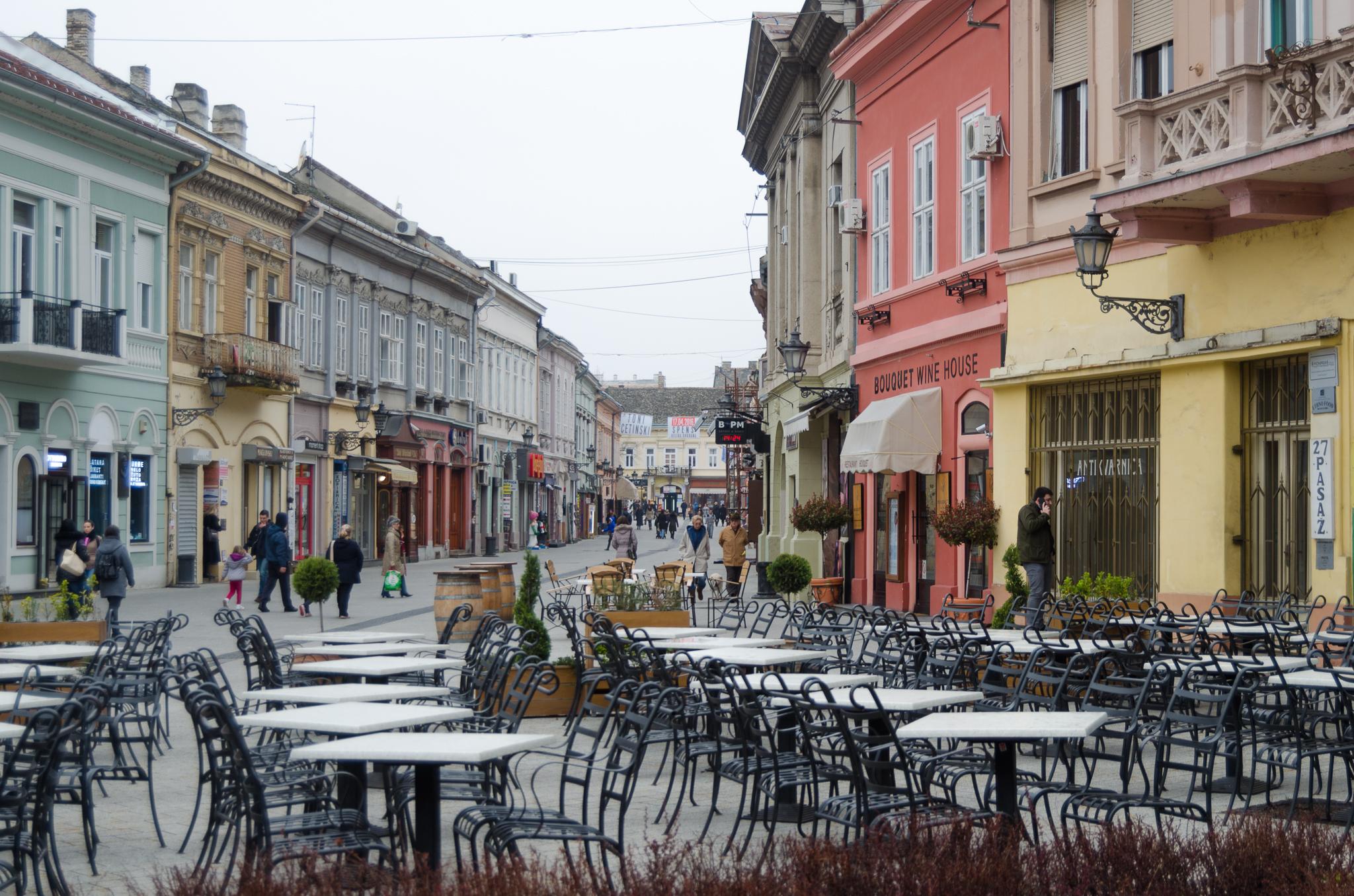 Dunavska Street I Love Novi Sad