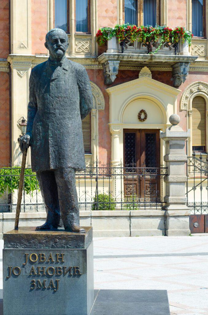 Figura Jovana Jovanovića Zmaja Novi Sad