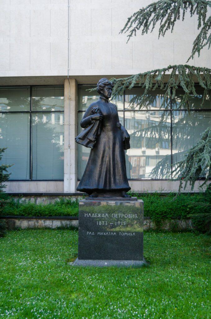 Figura slikarke Nadežde Petrović