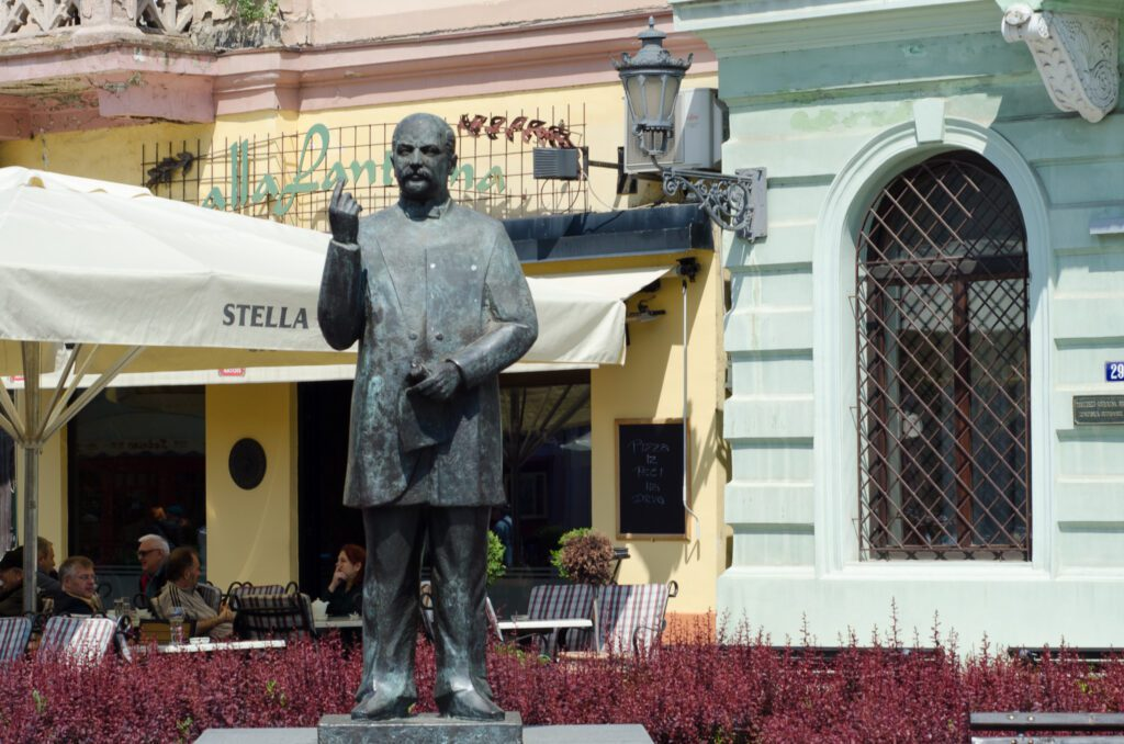 Spomenik Jaši Tomiću Novi Sad