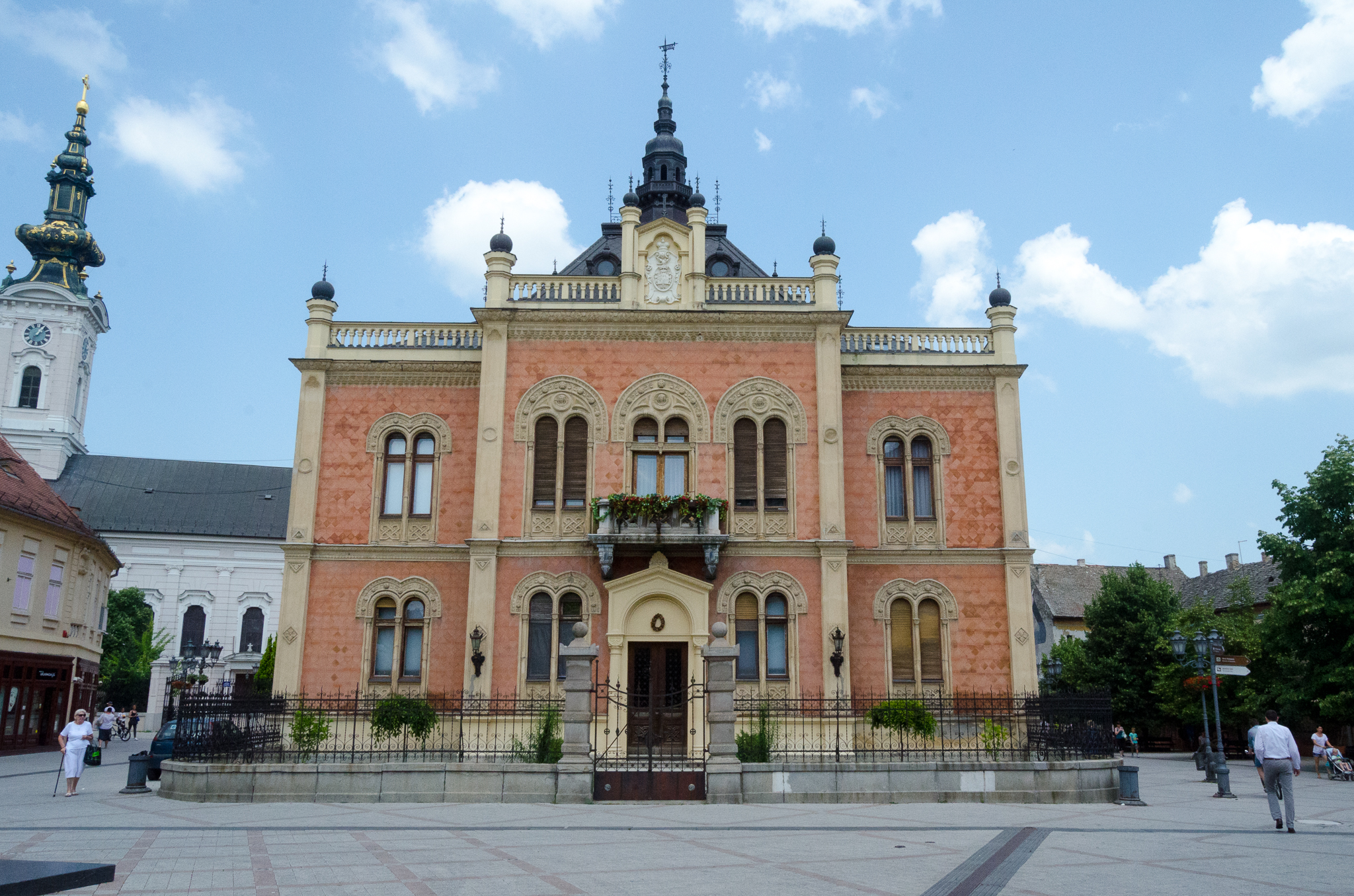 Vladičanski dvor u Novom Sadu