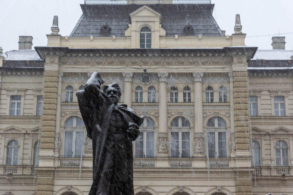 Sneg u Novom sadu 2021 22
